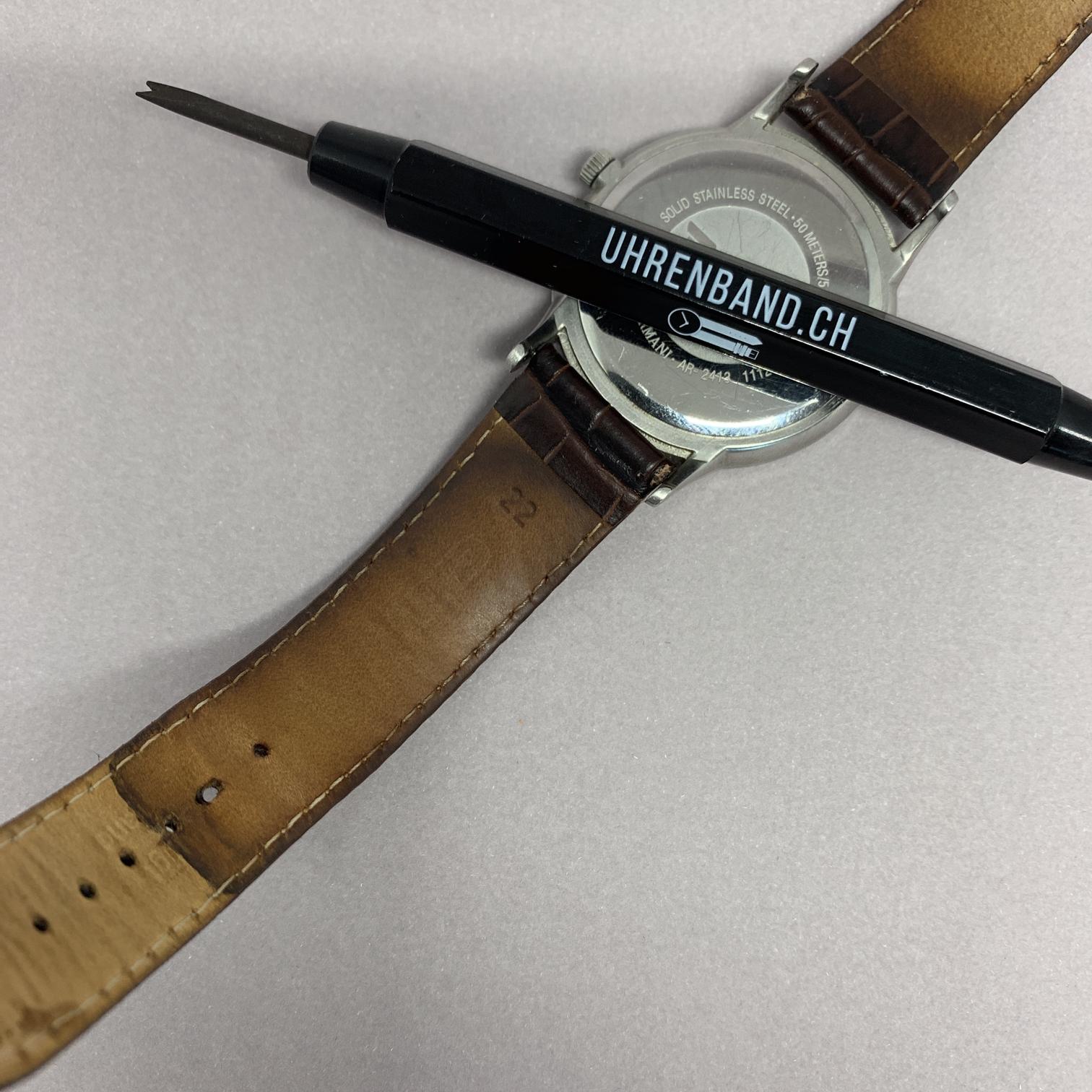 Pflege des Uhrenbandes aus Leder